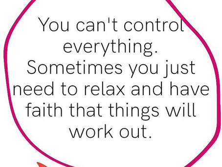 When We Relinquish The Need To Be In Control Constantly