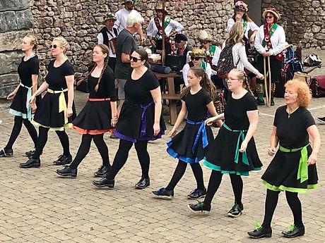 Hadrian Clog performing