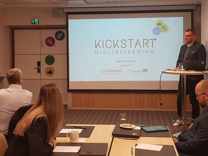 Kickstart export to Estonia has started!