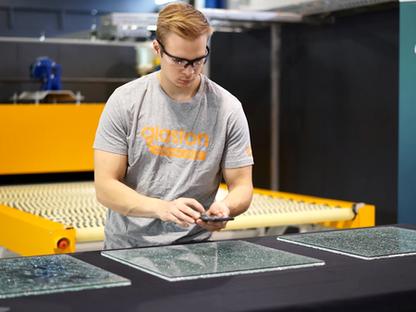 #DIGINNObest: Glaston Siru App – Making the Mandatory Glass Fragmentation Test Easy and Fast