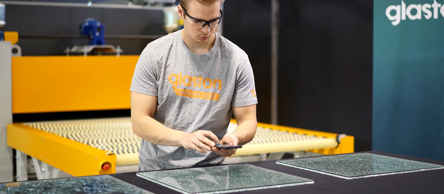 #DIGINNObest: Glaston Siru App – Making the Mandatory Glass Fragmentation Test Easy and Fast
