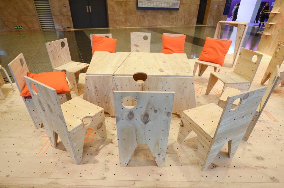 RAAW | Art Basel | Making of AAApavilion | Artist Jamming Table