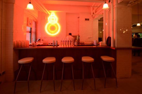 RAAW | Adrain Wong | Absolute Art Basel Art Bar | Art Installation Spiderstool in Artbar