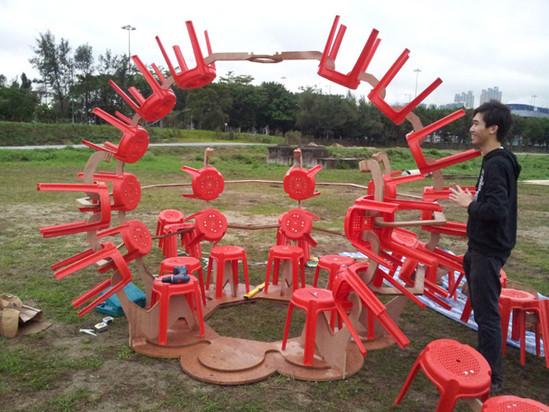 RAAW | Clockenflap Art Installation Stoovalion | Art Sculpture