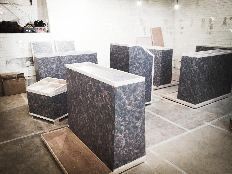RAAW | Adrain Wong | Absolute Art Basel Art Bar | Art Installation Making of Artbar