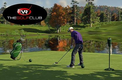 virtual reality golf simulator experience
