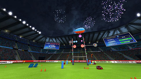 virtual reality rugby competition