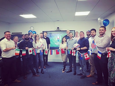 Virtual reality rugby sales incentive