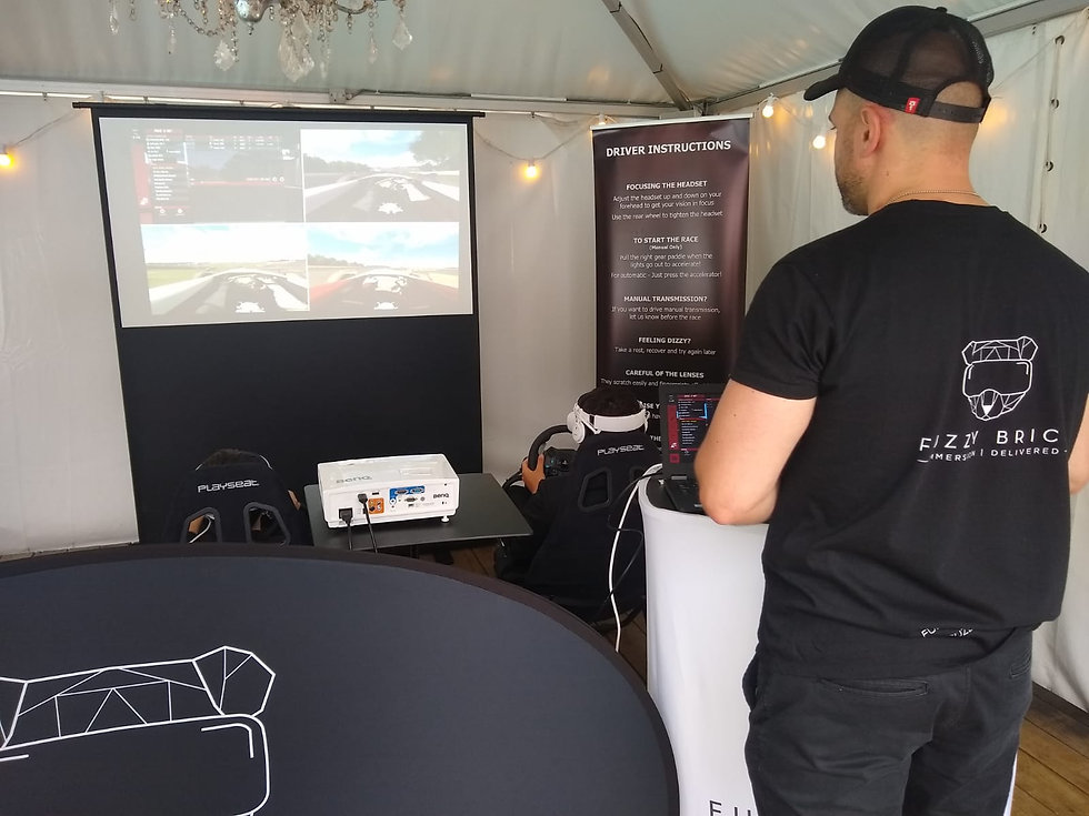 Virtual reality party