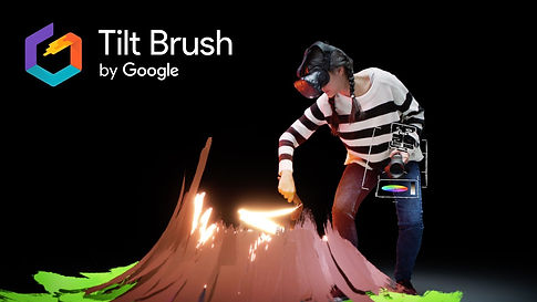 virtual reality tilt brush design