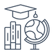 VR Education and Learning Icon