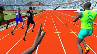 virtual reality running simualtor