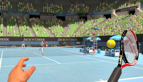 virtual reality tennis competition
