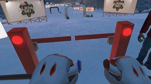 virtual reality skiing experience