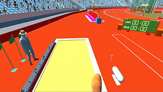 virtual reality olympics simulator