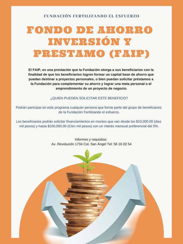 FONDO DE AHORRO INVERSIÓN Y PRÉSTAMO