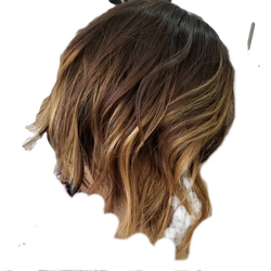 Sunkissed Bob Hair