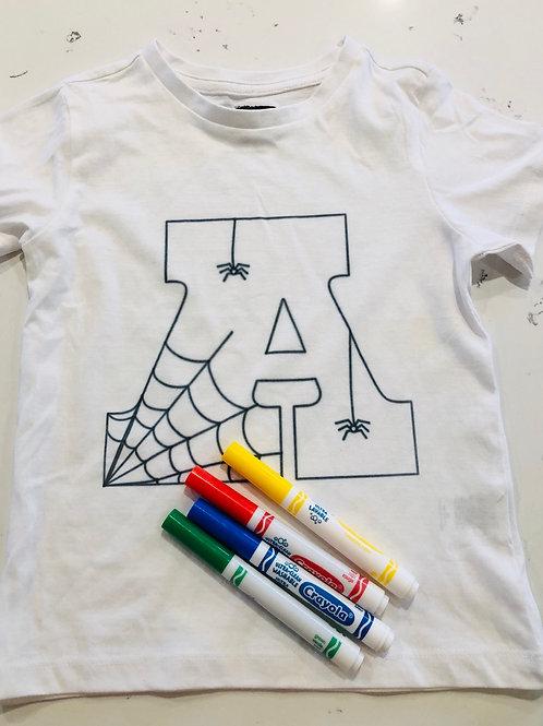 Custom Kids Printed T-shirt letter