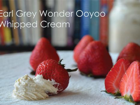 Earl Grey Wonder Ooyoo Whipped Cream