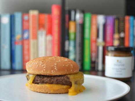 Burger with Earl Grey Ooyoo