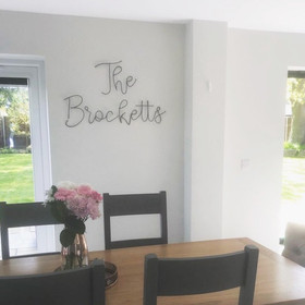 The Brocketts Freehand in black