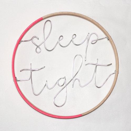 sleep tight; Hoop by Wired Mama