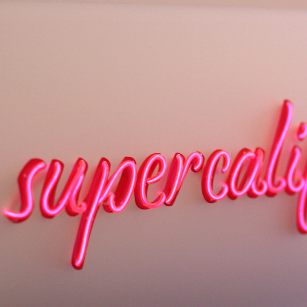 Supercalifragilisticexpialidocious (pink