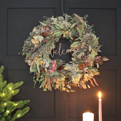 Outdoor Wreath Decoration