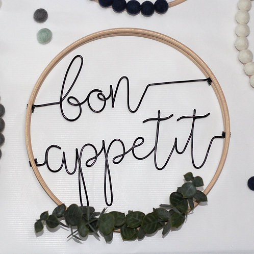 bon appetit; Hoop by Wired Mama