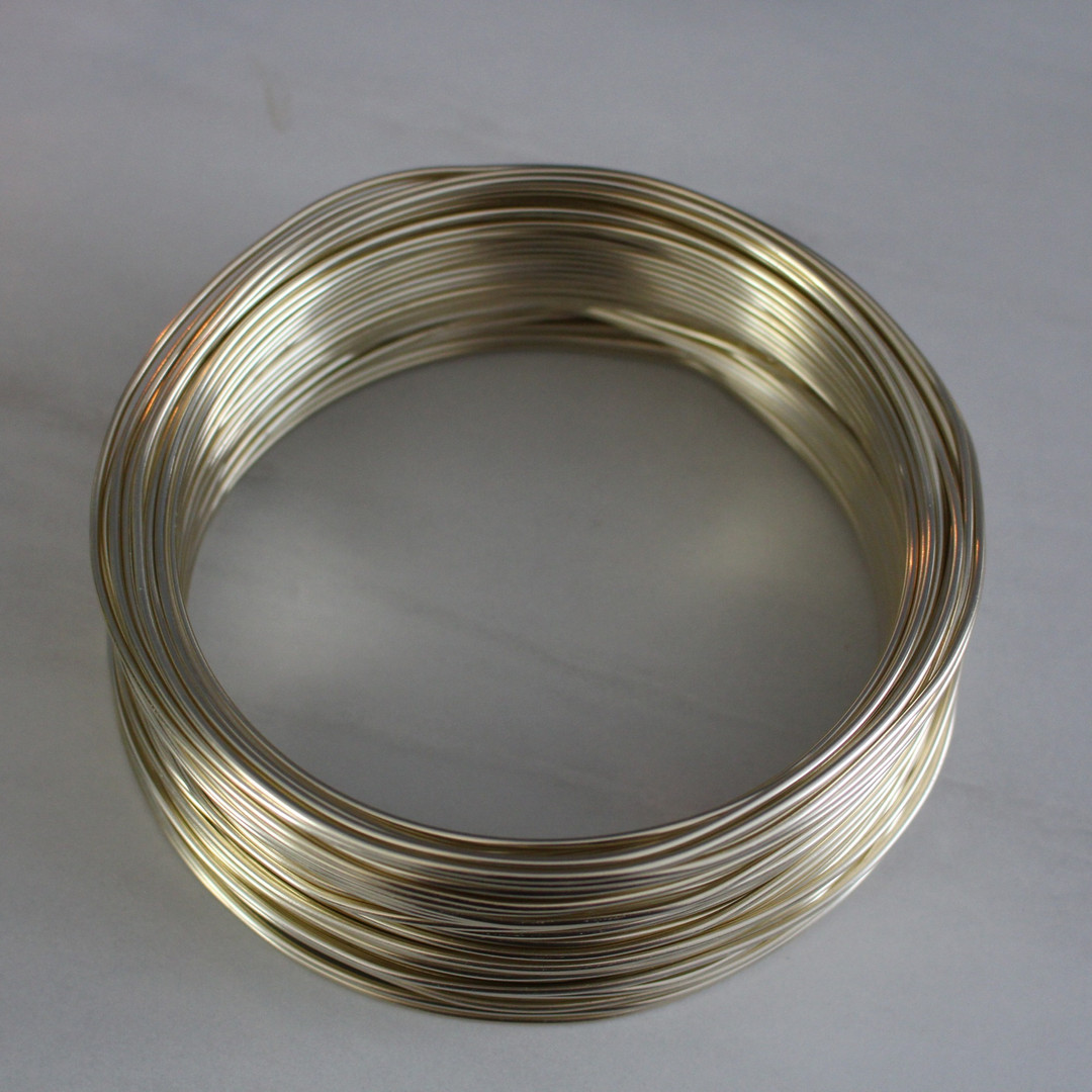Pale Gold wire Wired Mama