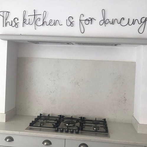 This kitchen is for dancing XL
