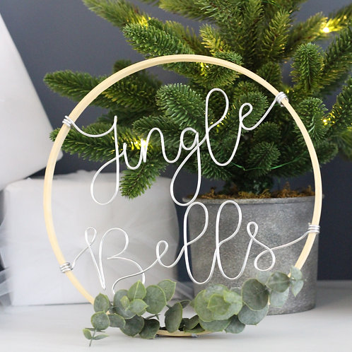 Jingle Bells Wreath 22cm
