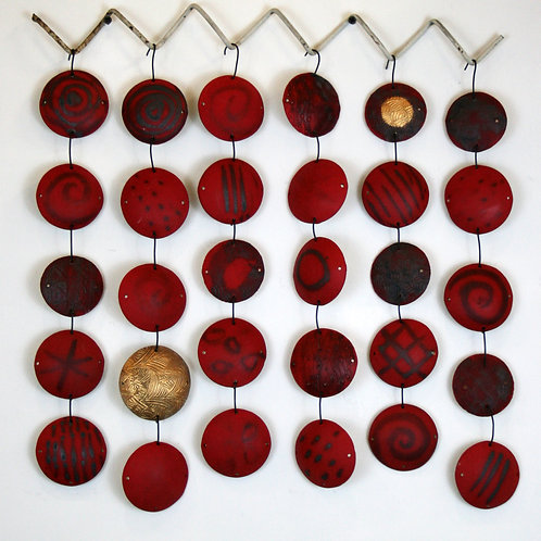 Red and Gold Hanging
