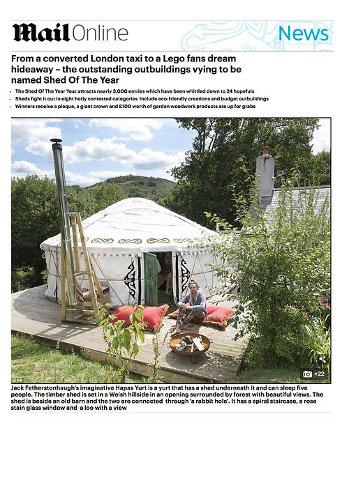 hapus yurt shed of the year Mail.jpg