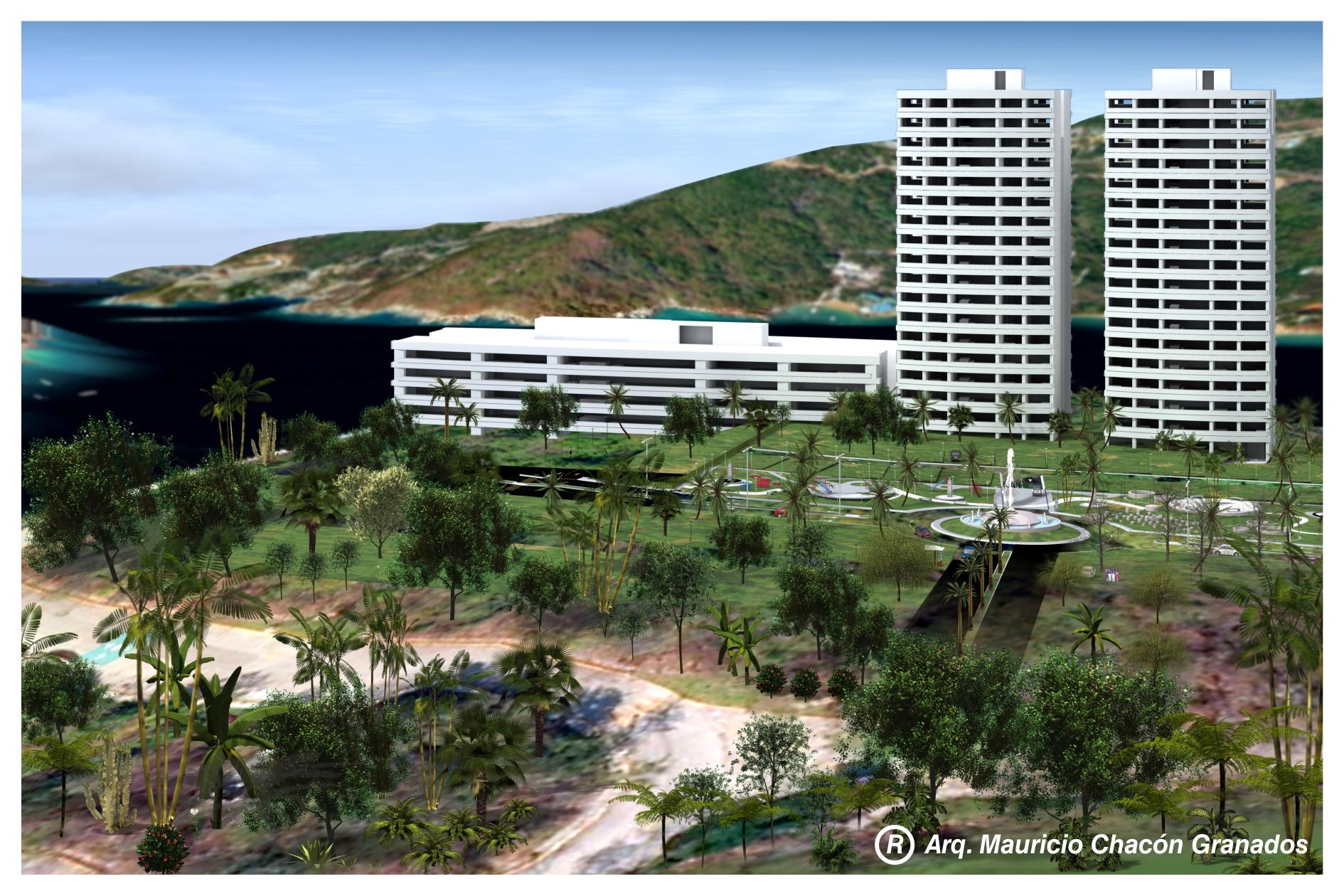 Conceptual para proyecto hotelero.