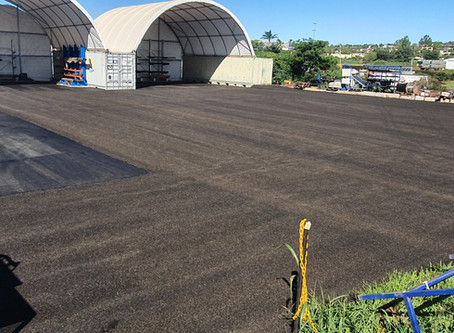 Bitumen Yard Re-Sealing at Pro-Test Well Services, Toowoomba