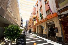 Facade of the Hotel Cordoba Centro