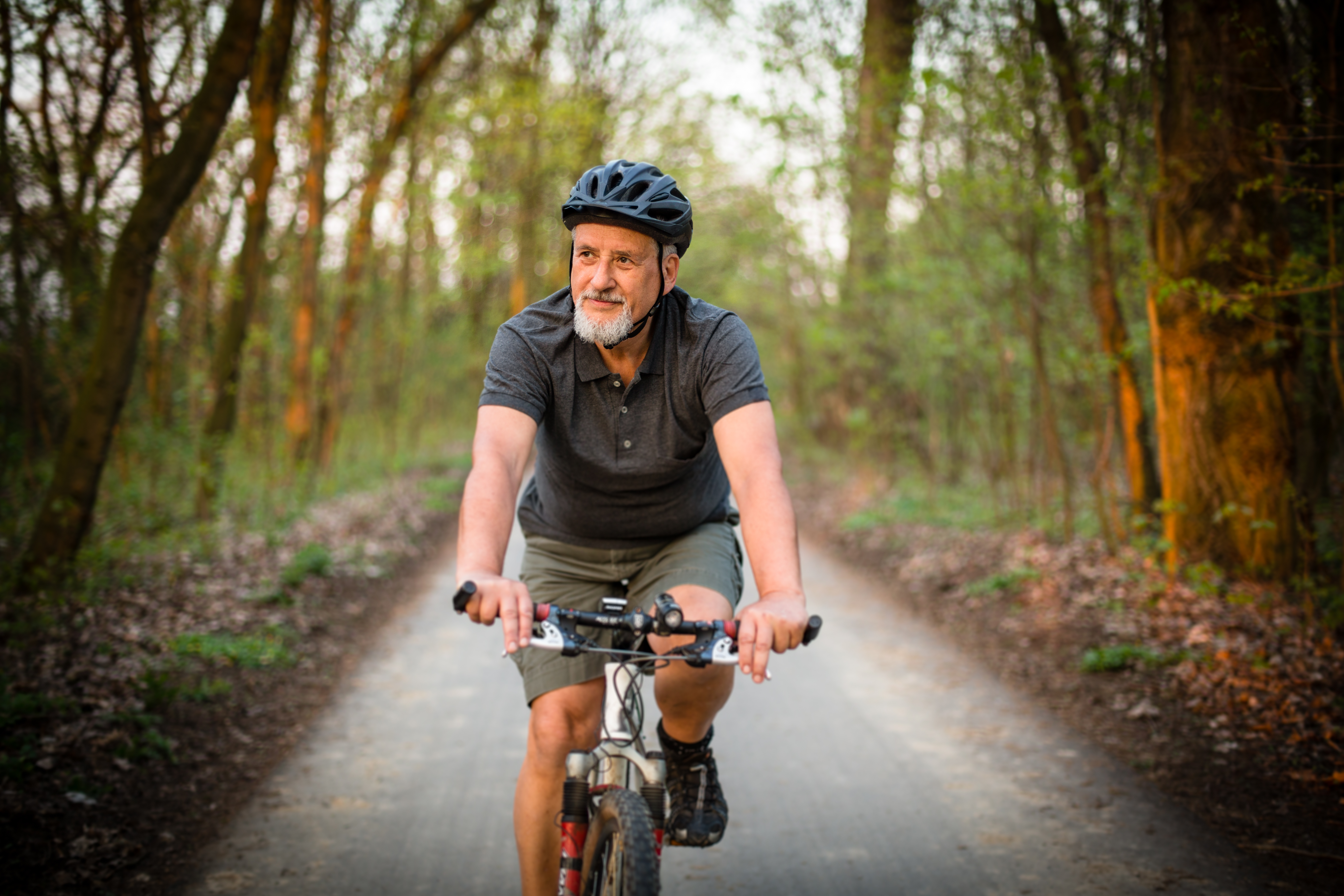 Cycling after partial knee replacement