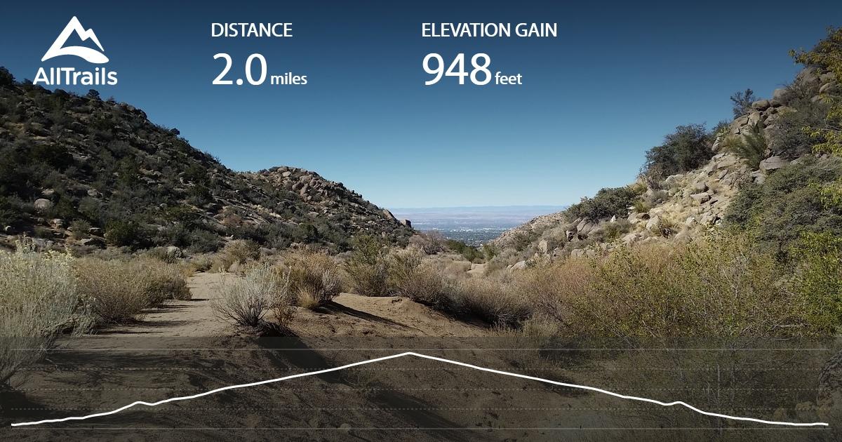 Piedra Lisa Canyon Trail