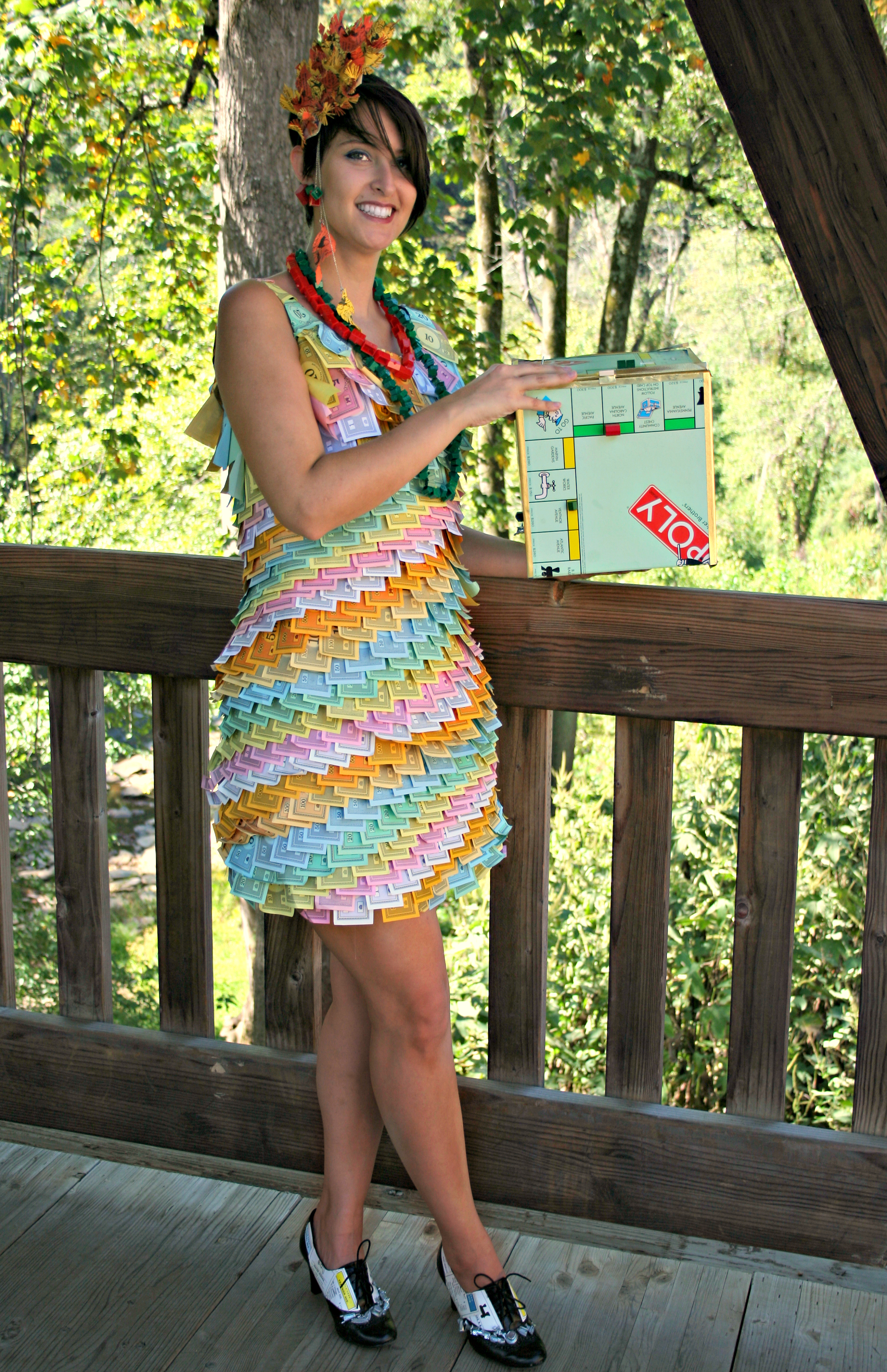 Monopoly Dress and Prop Board Box