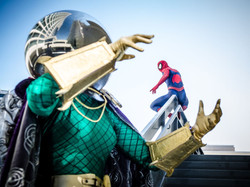 Mysterio And The Amazing Spider-Man