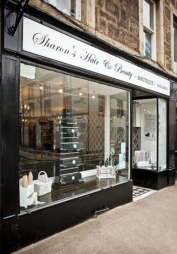 Sharon's hair and Beauty Salon in Haddington.