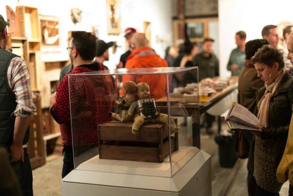 Blow Up Dolls at Julian Garner's Grey Area Gallery, Ottawa, 2013