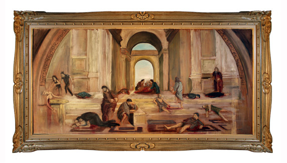 The School Of Athens Mass Shooting