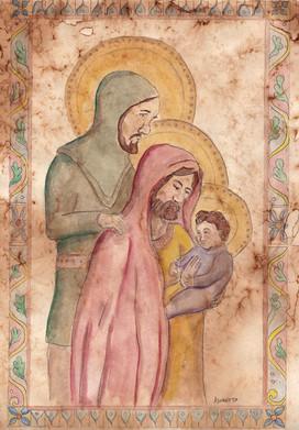 Joseph & Mario's adoption of the Magi (study)