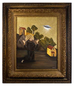 Saint Francis fears the stigma of witnessing a UFO