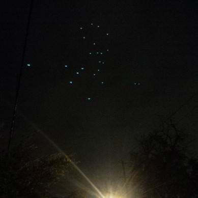 UFOs over Ottawa - Nuit Blanche