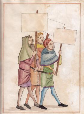 Les Protesteurs