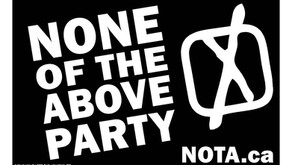 Vote for the None Of The Above Party.