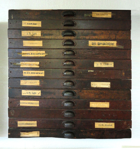 Late 1800s Drawer Fronts.